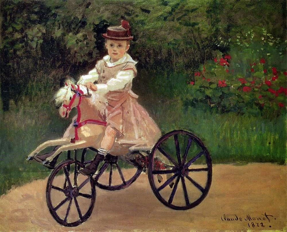 Jean Monet - Pinturas de Monet Claude | O Pai do Impressionismo