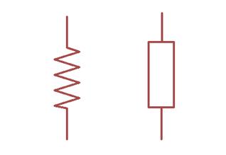 Resistor Symbole Used in Diagrams