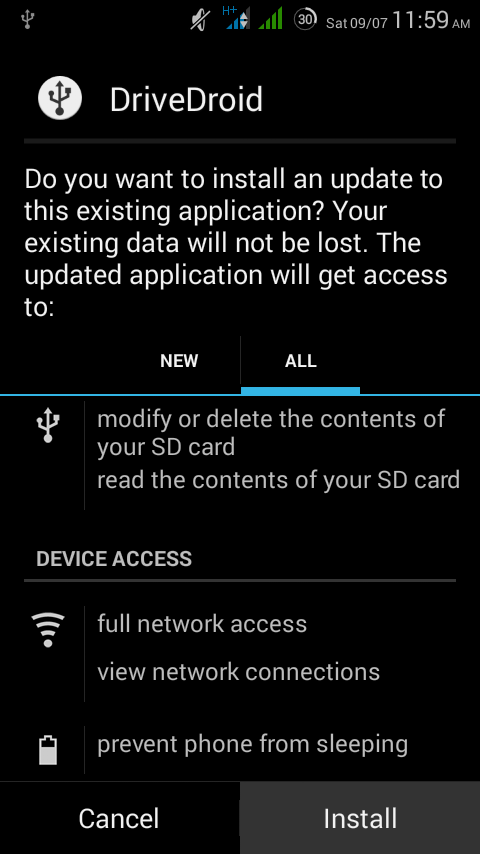 Use your Android as a Live USB packed with Ubuntu/other