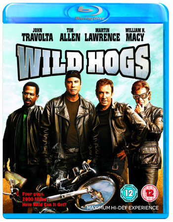 Wild Hogs (2007) Dual Audio Hindi 720p BluRay x264 750MB Full Movie Download