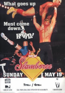 WCW Slamboree 1996 Review - Event Poster