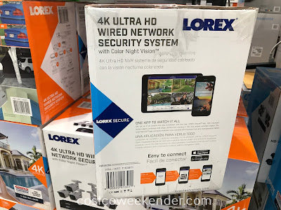 Lorex 4K Ultra HD Wired Security System with Color Night Vision: great as your home surveillance system