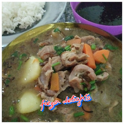 SUP DAGING SIMPLE (iza style)