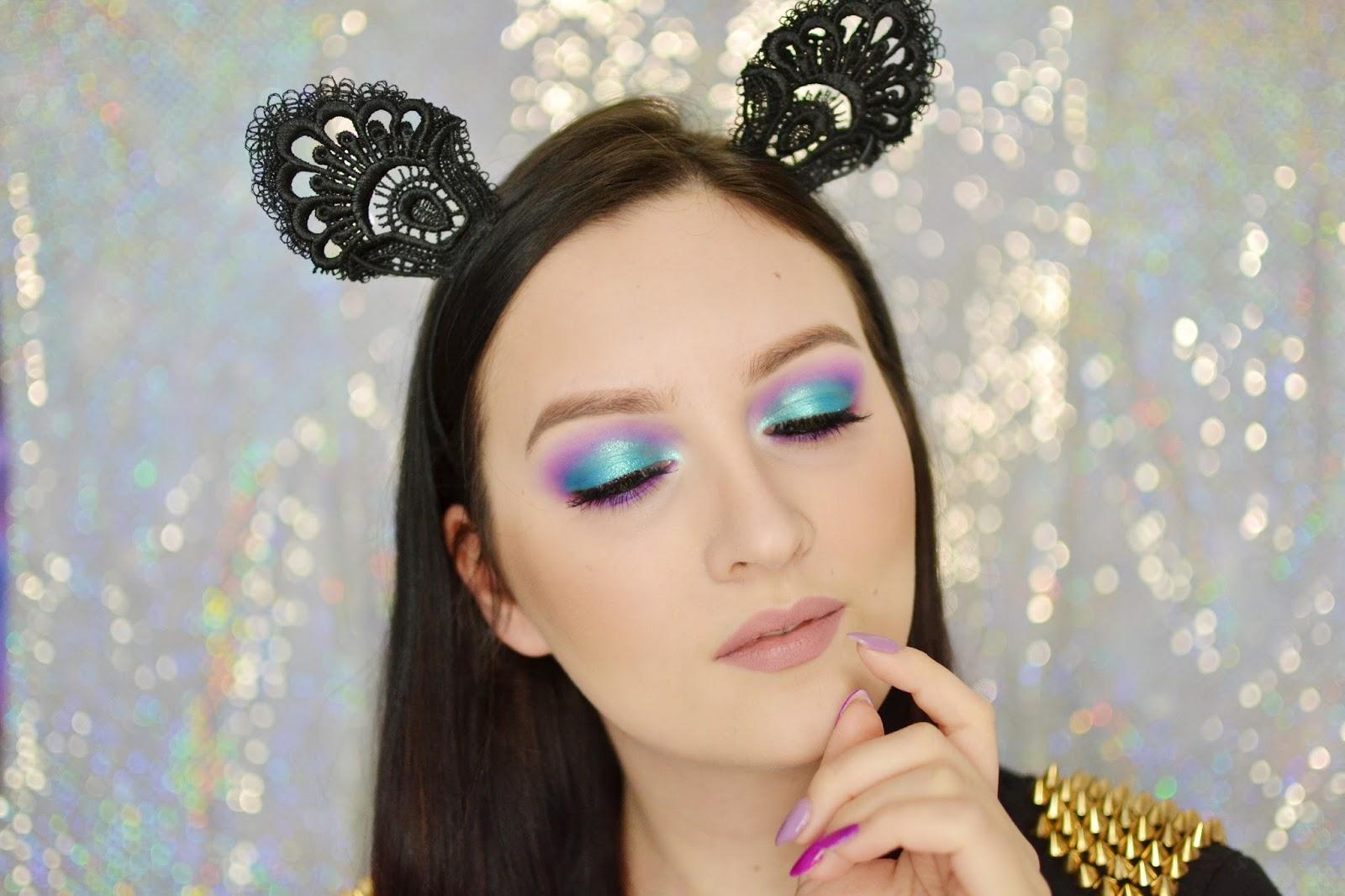 makijaż tutorial karnawałowy