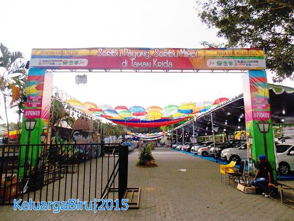 Pekan Raya Malang 2015: Seribu Payung Seribu Mimpi di Taman Krida
