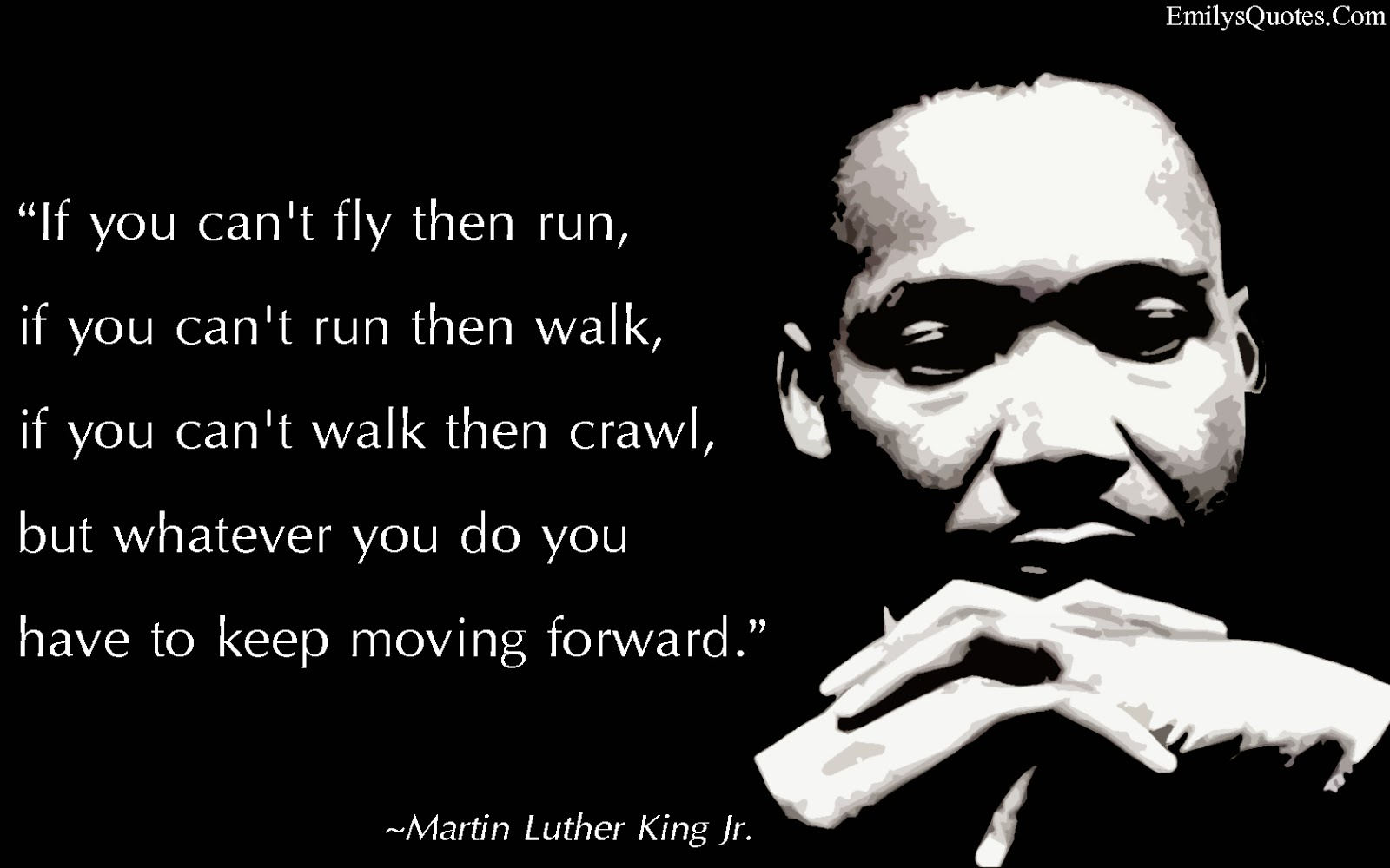 Martin Luther King Quotes Inspirational Motivation: Ma & Pa RR 1943: Moving Forward