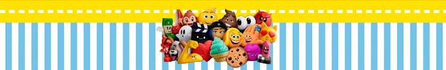 Etiquetas de Emoji para imprimir gratis.