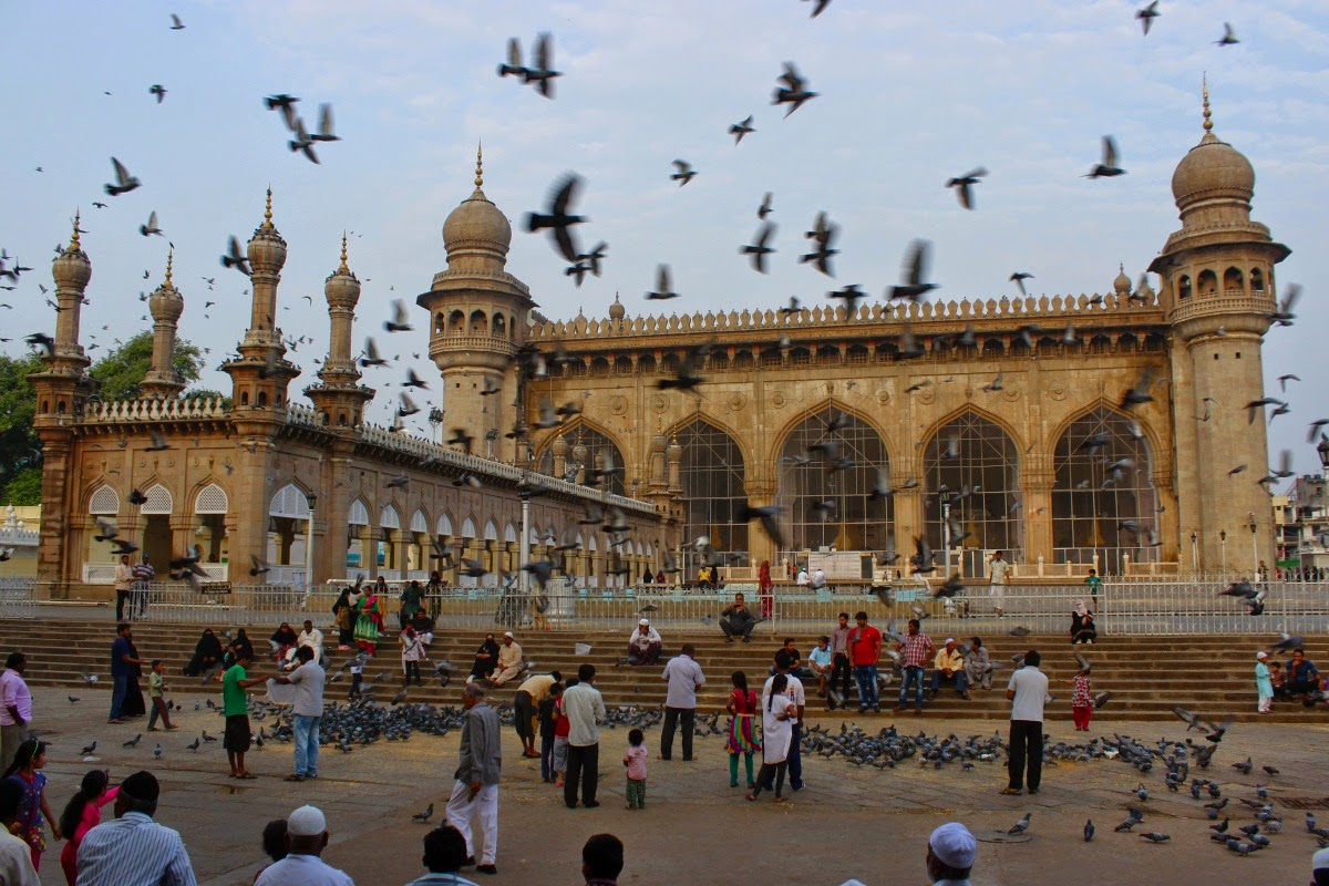Journeys across Karnataka: Makkah Masjid, Hyderabad
