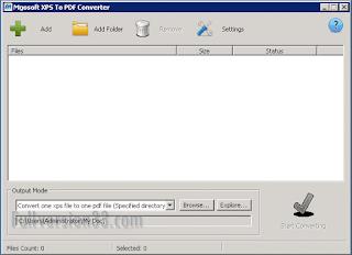 Mgosoft XPS To PDF Converter 11.2.2