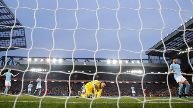 Liverpool Beri City Kekalahan Perdana