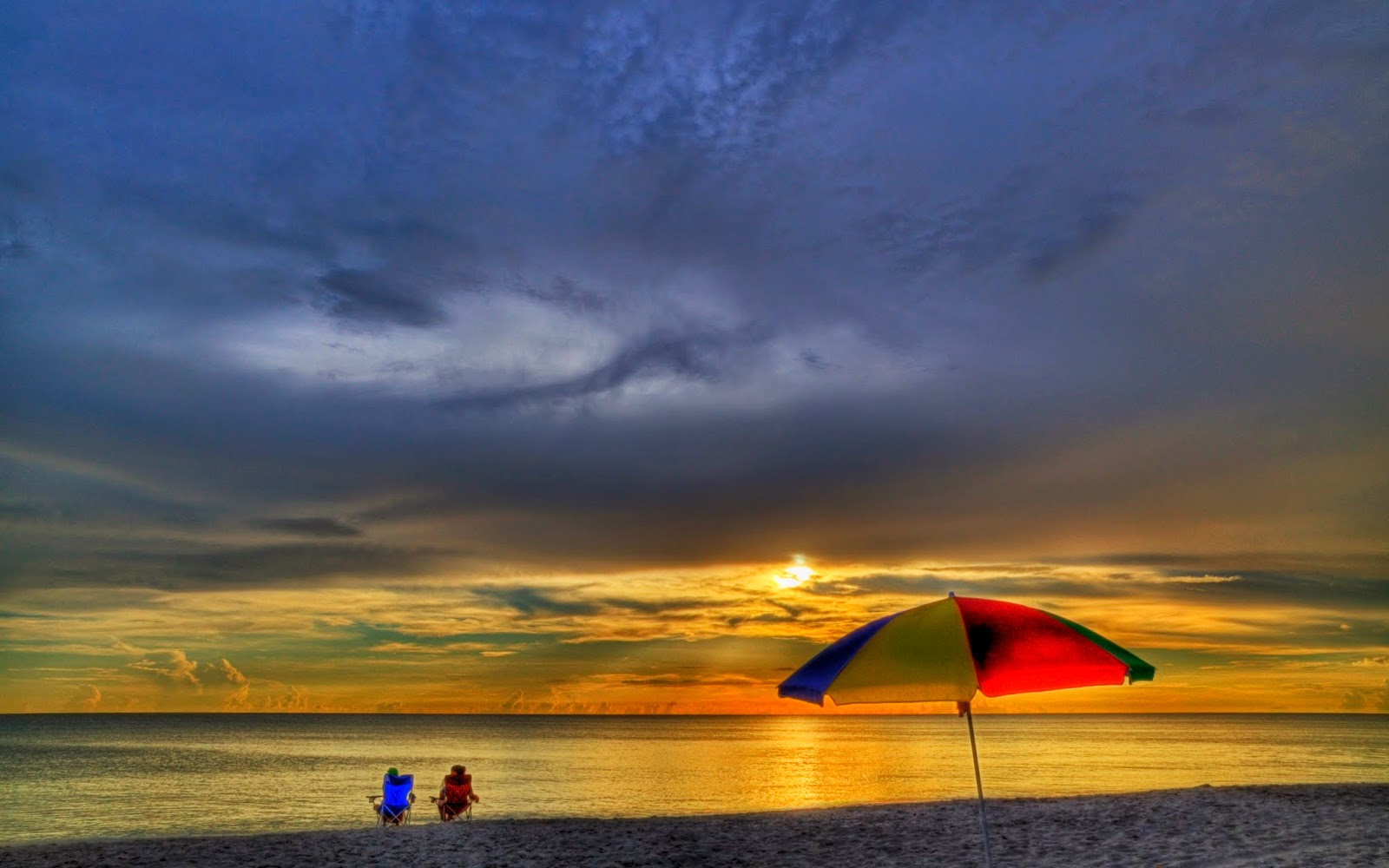 Image Summer Beach Chairs Download | Free HD Wallpapers