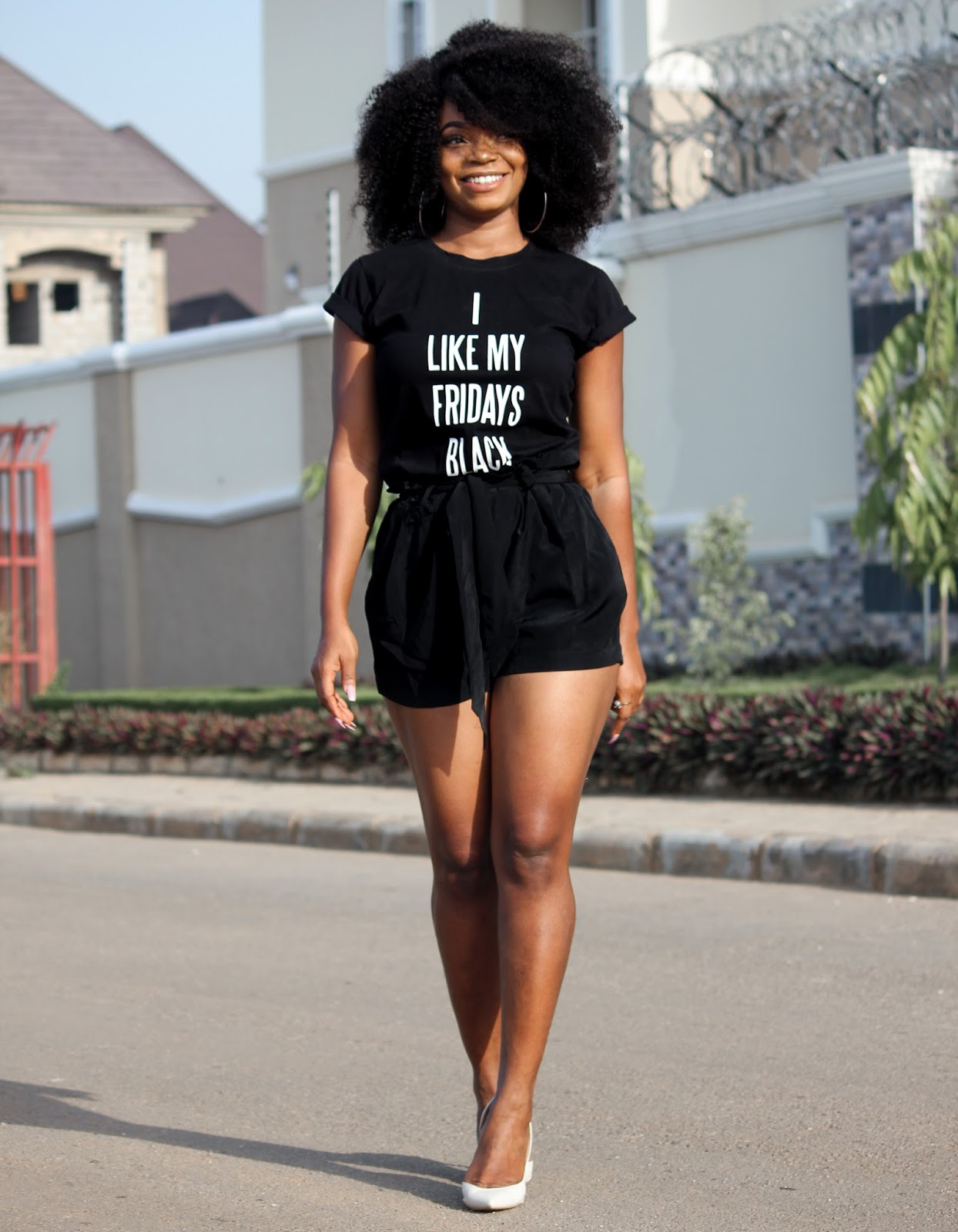 I LIKE MY FRIDAYS BLACK - JustPorshxJumia Black Friday Collaboration & Giveaway
