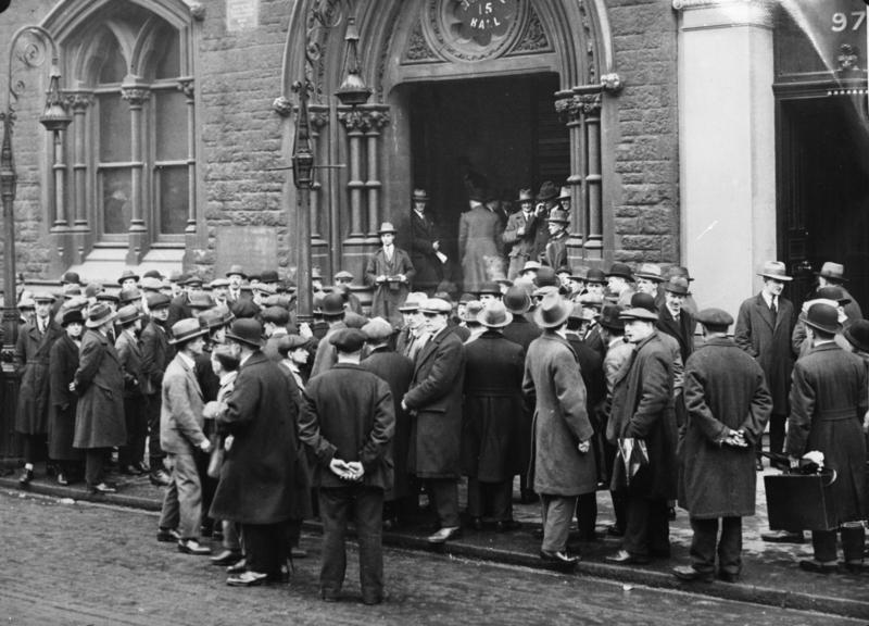 an analysis of unemployment during the inter war years in britain Chapter 1 the interwar economy in a secular perspective  tables reveal a slowdown in international trade and a rise in unemployment during the interwar years .