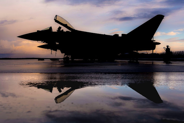 Aviationist RAF Eurofighter Typhoon Estonia