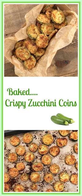 Cooking Crispy Zucchini Coins