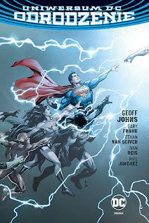 Uniwersum DC: Odrodzenie okładka