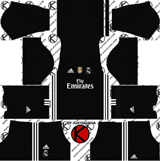 Real Madrid x adidas Digital 4th Kits Dream League Soccer Kits