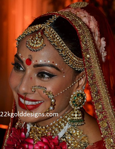 Bipasha Basu Wedding Jewellery