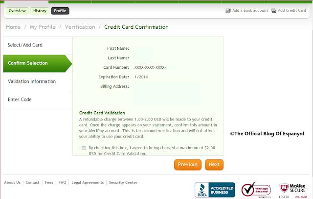 Security Bank Credit Card Billing Statement