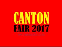 Jadwal Pameran Perdagangan Canton Fair China 2017