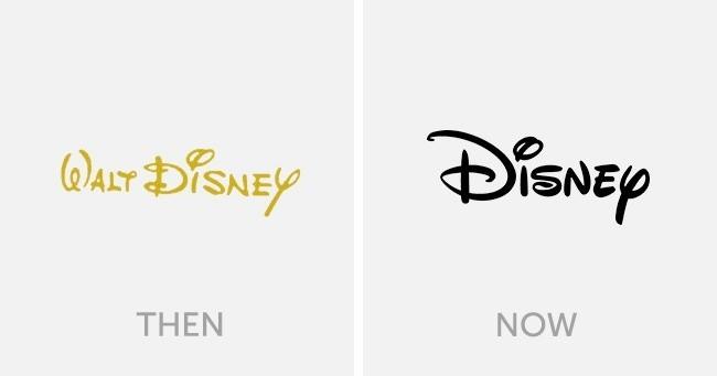 logo walt disney dulu dan sekarang