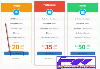 cara membeli paket hosting indonesia