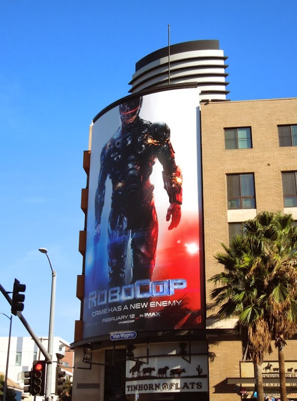 Robocop 2014 movie remake billboard