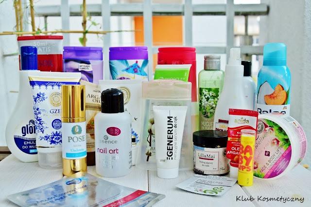 zuzycia kosmetykow