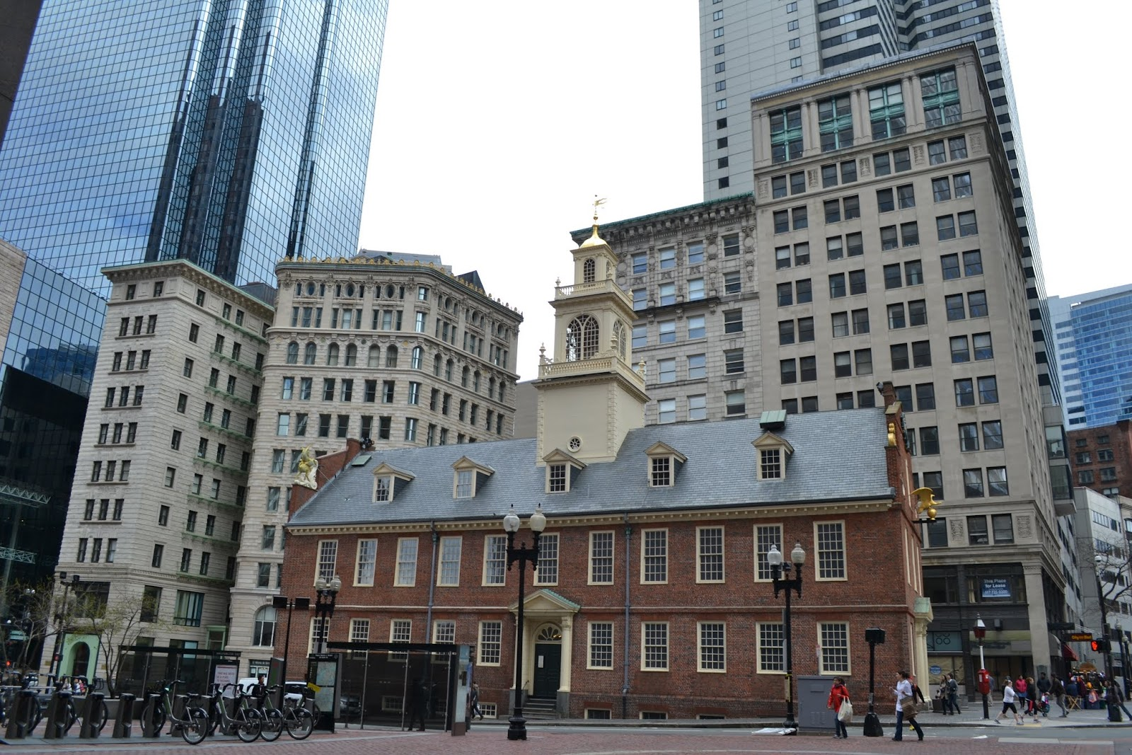 Старый Капитолий, Бостон, Массачусетс (Old State House, Boston)