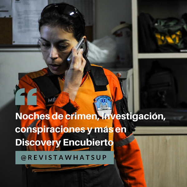 Discovery-Encubierto