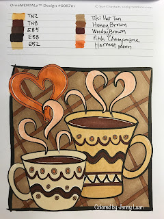 Min--Mentals on the go Coloring by Sue Chastain