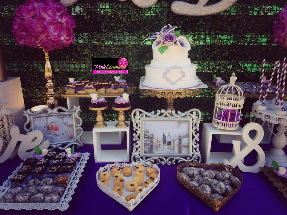 Pink Lemonade Balloons And Party Favors Cebu: Wedding