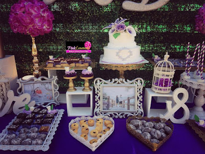 royals and flowers lavender Sweet Buffet