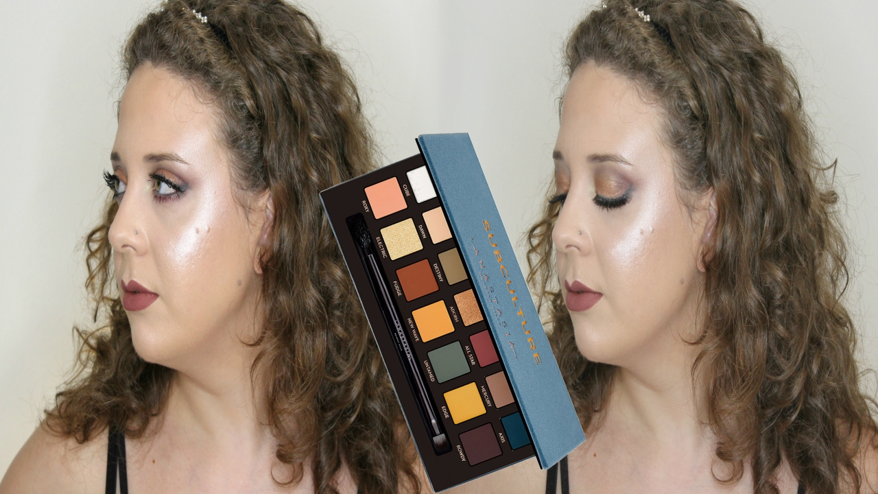 how to use anastasia subculture palette