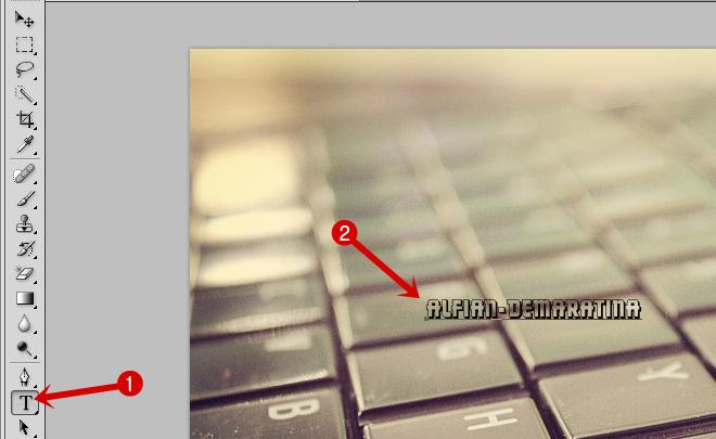 Cara Membuat Watermark Timbul dengan Photoshop CS5