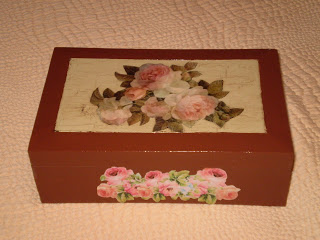 El taller de chela cajas de madera decoradas decoupage - Papel decoupage infantil ...