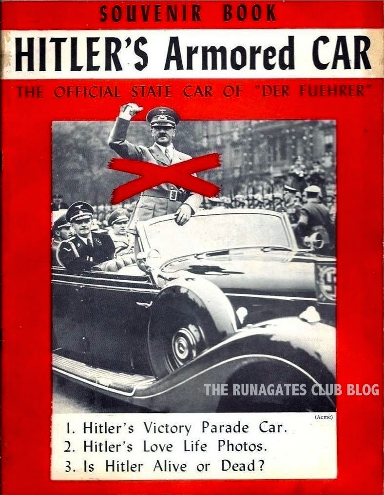Hitler's Armoured Car - booklet distributed at War Bond rallies, 1948