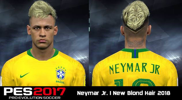 PES 2017 Neymar Jr New Face (Russia World Cup 2018
