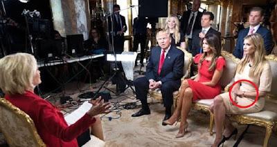 فضيحة كبرى لإيفانا ترامب في أول لقاء إعلامي مع العائلة الحاكمة