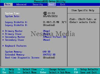 Bios - cara format laptop