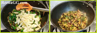 Aloo Bhindi Fry Recipe step 2