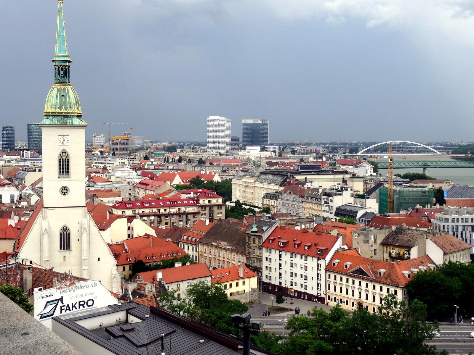cc472851e Arriving in Old Town Bratislava, Slovak Food Festival and Dinner at  Parlement Restaurant