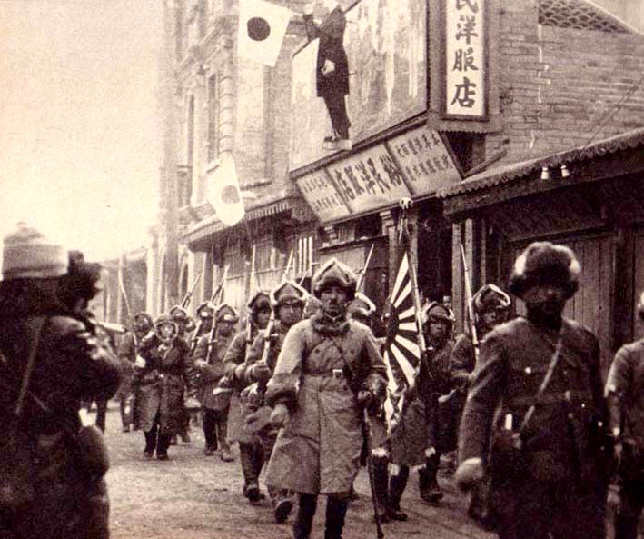 Japanese army in Manchukuo