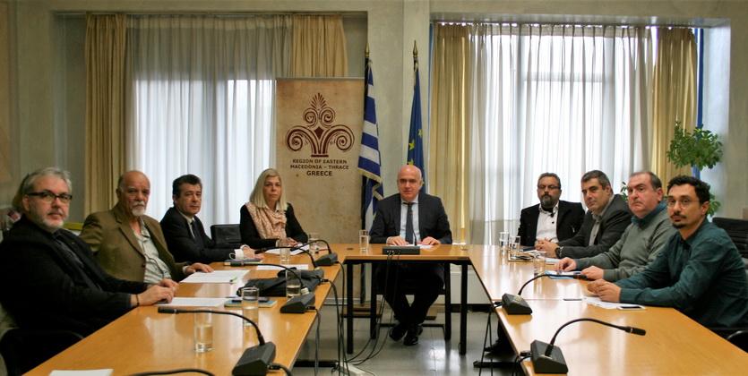Συγκροτήθηκε το Περιφερειακό Συμβούλιο Έρευνας και Καινοτομίας Αν. Μακεδονίας - Θράκης