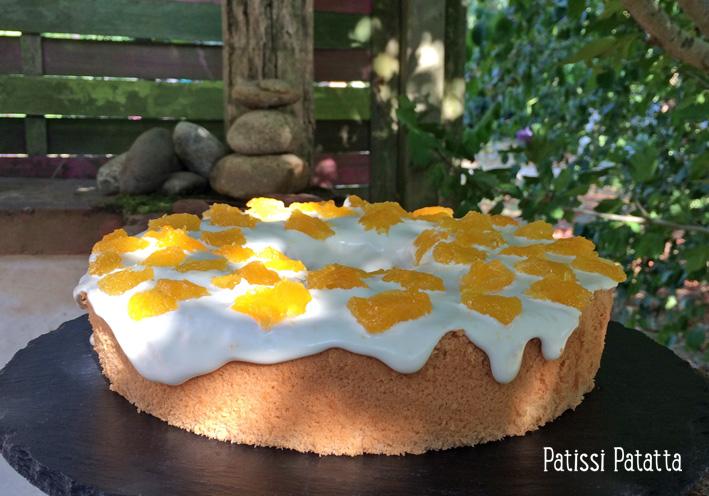 Patissi Patatta Chiffon Cake A La Fleur D Oranger Et A L Orange