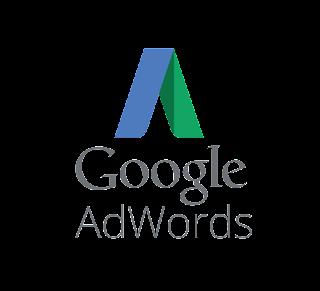 Logo oficial do sistema de publicidade Google Adwords