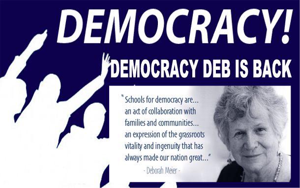 Image result for big education ape Democracy deb