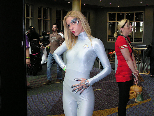 Star Trek's Seven of Nine  Cosplay