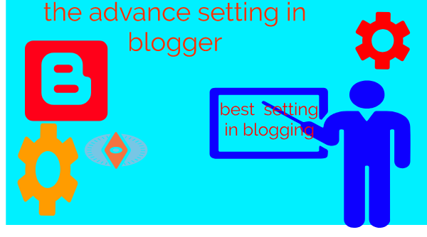 make a advance set up in blogging and earn more